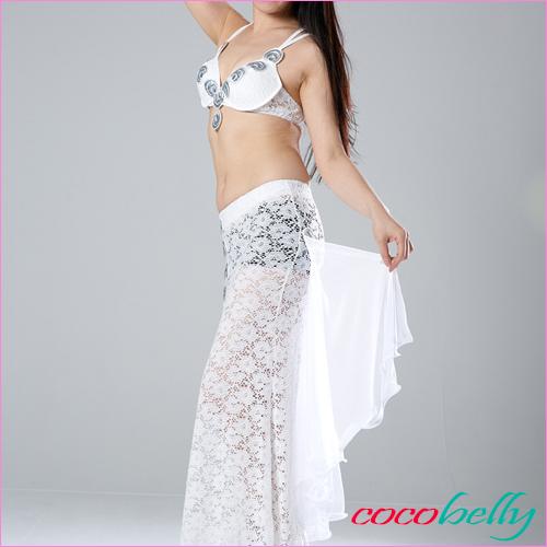 ベリーダンス衣装 キャロルホワイト
